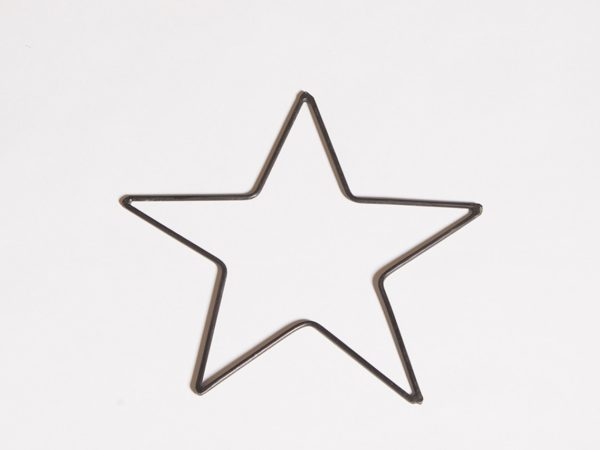 Black Simple Star