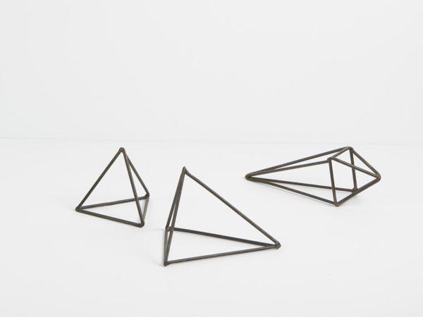 Black Volume Triangles