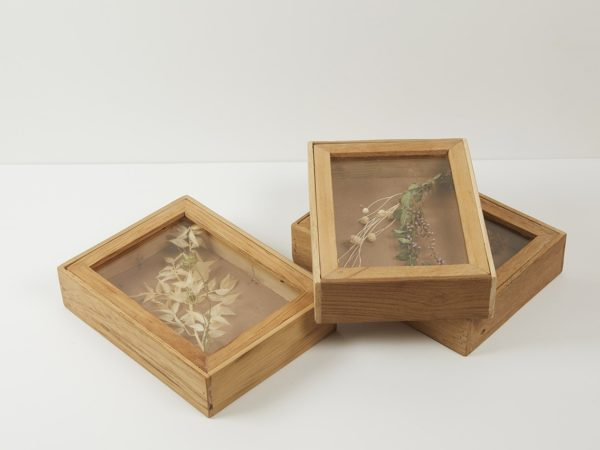 Flower Teak Wood Box