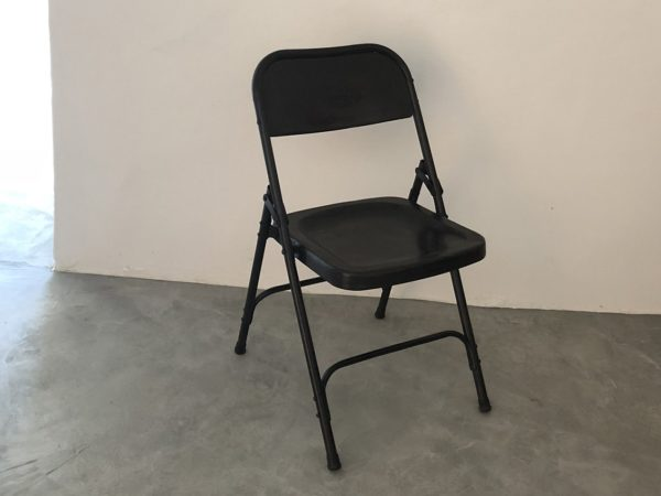 Folding Iron Chair