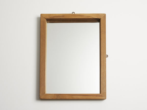 Old Teak Wood Mirror M