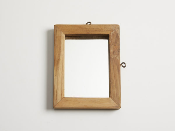 Old Teak Wood Mirror S