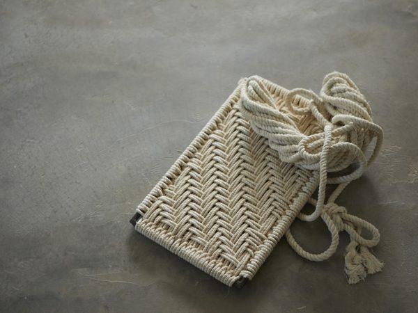 Weaved Shelf Swing
