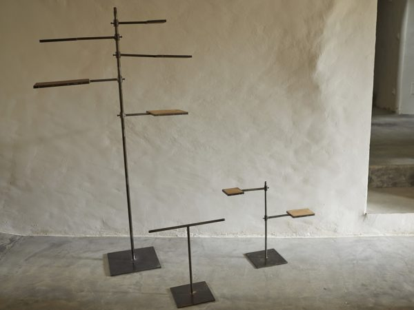 Iron and Wooden Stand S / M / L