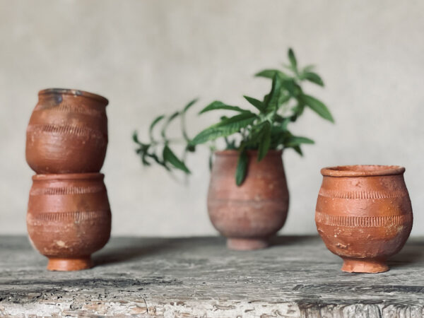 Round Japanese Pot